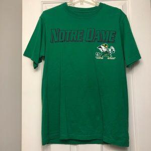 Notre Dame Short Sleeve Adidas Tee